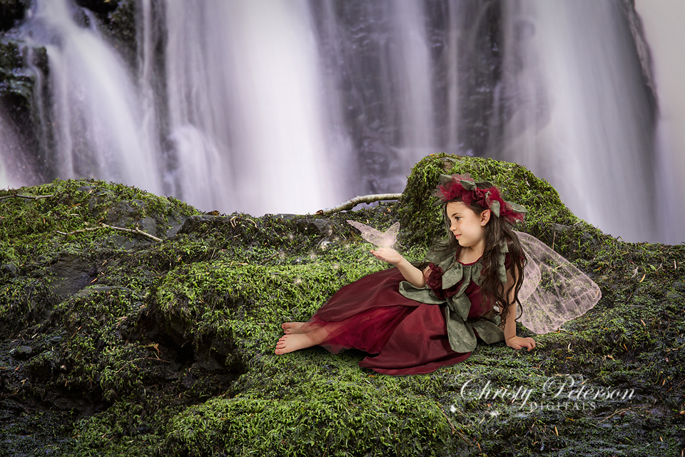 waterfall_digital_background_for_fairy_tale_composite_pictures