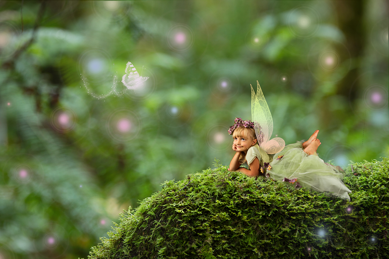 Mossy Green My Favorite Digital Backgrounds For Fairy Composite